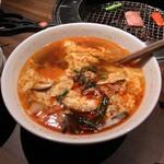 焼肉トラジ - カルビスープ880円(2013)