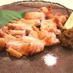 楽宴乃間 純家 -すみか- - 赤城鶏の岩塩焼き
