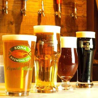 ハワイNO.1のコナビールを横浜で生で楽しめるのはここだけ!