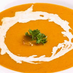 海老のビスクスープ