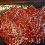 60048787 - 焼肉定食 A4 A5ランク黒毛和牛カルビとロース