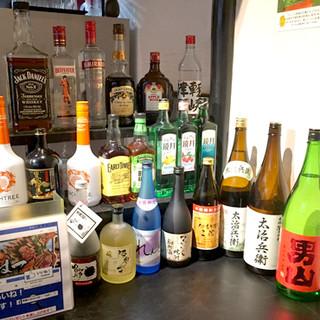店長選りすぐりおいしい青森地酒を常時10種類ご用意!
