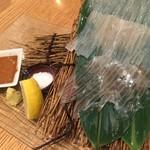 sakabasammaruni - スルメイカの刺身