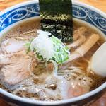 麺武者 - 魚だし中華そば:700円/2016年12月