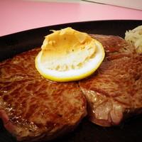 すてーき亭 - 上ミスジのステーキ