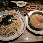 黒潮ラーメン寳 - 魚介豚骨つけ麺(大盛り)【2010年12月】
