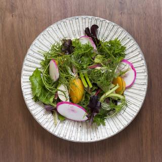 野菜たっぷり。体に優しいヘルシーメニューが充実