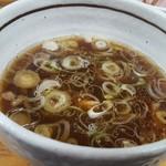 60053985 - チャーシューつけ麺のつゆ