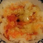 南国酒場リバーサイド - 鬼怒川へ温泉旅行に行ったママが、高速を降りてわざわざ買いに行った新鮮卵!       黄身が濃いオレンジでとっても濃厚♡