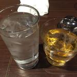 60056239 - 梅酒と水