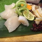 膳のすたいる - byゼッペキ       貝柱の刺身