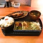 魚 上松 - 料理写真:2016 12 厚切銀鱈味噌漬焼御膳