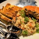 ウオカメ - 牡蠣と蟹タルタル 1,450円