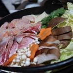 海鮮どんぶりっこ - きんき鍋