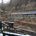 大沢温泉 菊水館 - 湯治部から見た菊水館