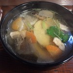 大沢温泉 菊水館 - ひっつみ450円