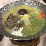 大沢温泉 菊水館 - 牛鍋(´・ω・`)