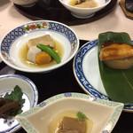 大沢温泉 菊水館 - 鰤やかれい煮つけ