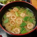 ちば - お味噌汁