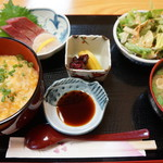 ちば - ふぐ雑炊ランチ(1000円)(2014/3)