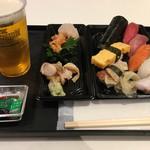 又こい家 - 2016-12 貝刺セット&寿司ビールセット