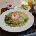 マイアミガーデン - サラダライスモーニングセット