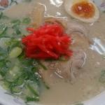 餃子の王将 - 料理写真:とんこつラーメン(中津川オリジナル)