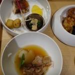 花万葉 - ◆「鮟鱇のから揚げ」「鱈素味噌焼き」「豚軟骨と大根の煮込」