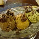 エンジェル ライブラリー - 私は選べる3種類のアイスクリームを。