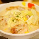 松屋 - 鶏と白菜のクリームシチュー