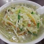 満洲園 - 2015/12/8 湯麺
