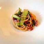 オ・プレチェネッラ - イイダコと青菜のペペロンチーノ