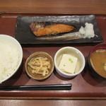 60062536 - 味付鮭定食(醬油) 920円