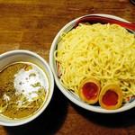 麺鮮醤油房 周月 - つけそば(味玉)