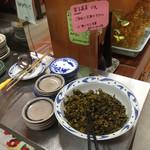 らーめんの力麺 - 気づかんかった高菜 レジ横に置いてる
