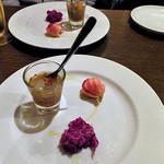 マイアリーノ - コース料理(前菜3種)(2016年12月)