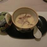 六本木 浜藤 - 松茸と白トリュフの茶碗蒸し