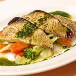イタリア食堂 MARIA - 【冬限定】軽くあぶった寒ブリのインサラータ