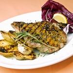 イタリア食堂 MARIA - 【冬限定】名物 若鶏の黒こしょう焼き