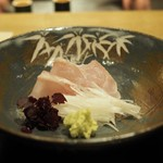 Muromachi Wakuden - 白甘鯛刺身  「2016.12夜利用」