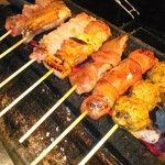 但馬地鶏 炭のあかり - 料理写真: