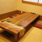 魚吟どい - ☆個室な座敷席は掘り炬燵式です!(^^)!☆