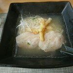 晴ル家 - 角島塩ラーメン[¥950](税込)