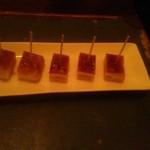 南平台 ラウンジ - 一口チーズケーキ