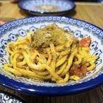ロットチェント - 黄色いイワシのソース 極太麺