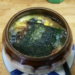 梅公 - 料理写真:壺ラーメン 塩
