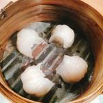 60075104 - エビ蒸し餃子。