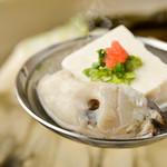 定番の!牡蠣 湯豆腐(一人前)
