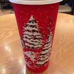 スターバックス・コーヒー - しんしんと雪が降っています