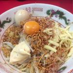 ジャンプ - 台湾まぜそば¥780+大盛¥100 トッピング:エビマヨ・味玉